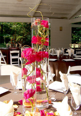 Flowers & Decor, pink, purple, Centerpieces, Flowers, Roses, Centerpiece