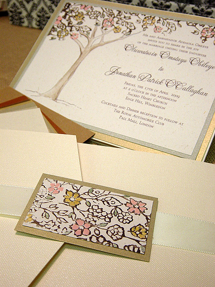 Stationery, invitation, Vintage, Vintage Wedding Invitations, Invitations, Tree, Momental designs, Lacy