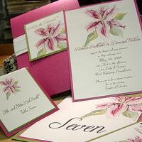 Stationery, invitation, Invitations, Wedding, Lily, Stargazer, Momental designs