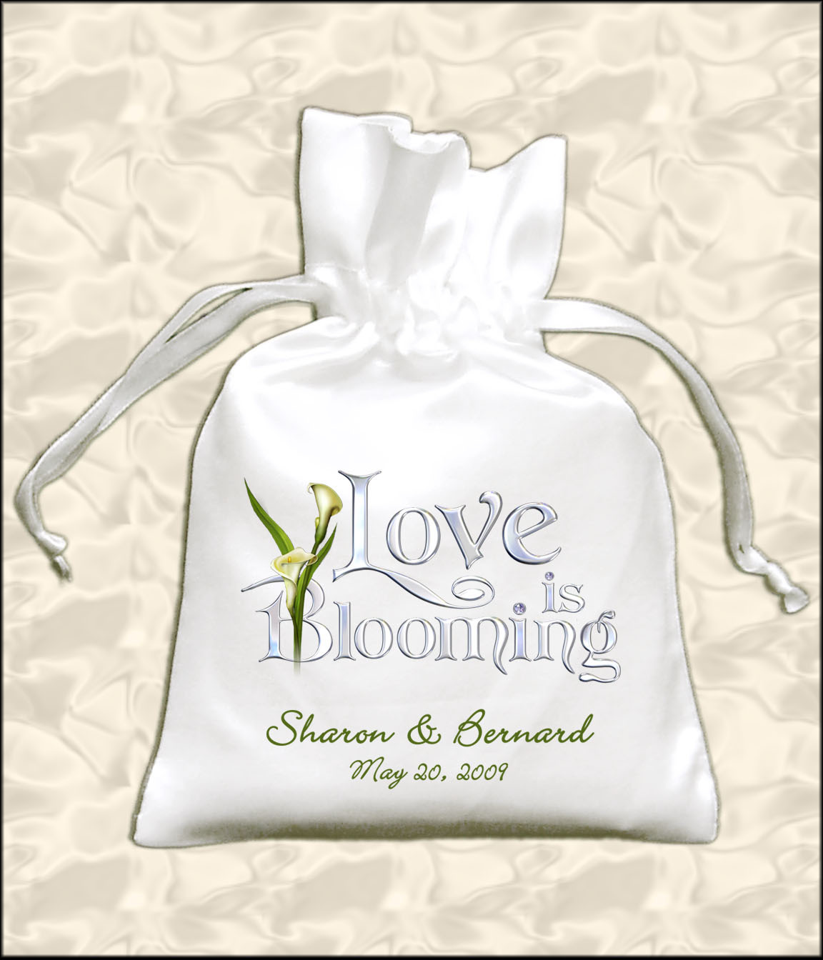 Favors & Gifts, Favors, Spring, Wedding, Calla, Lily, Personalized, Cheap