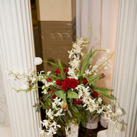Ceremony, Flowers & Decor, red, Ceremony Flowers, Flowers, Expressions floral events