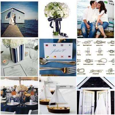 Inspiration, Flowers & Decor, Decor, white, blue, Beach, Ocean, Nautical, Board, Navy, Yacht club