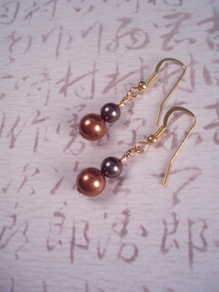 Jewelry, Earrings, Copper