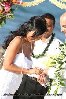 Ceremony, Flowers & Decor, Destinations, Hawaii, Wedding, Leis