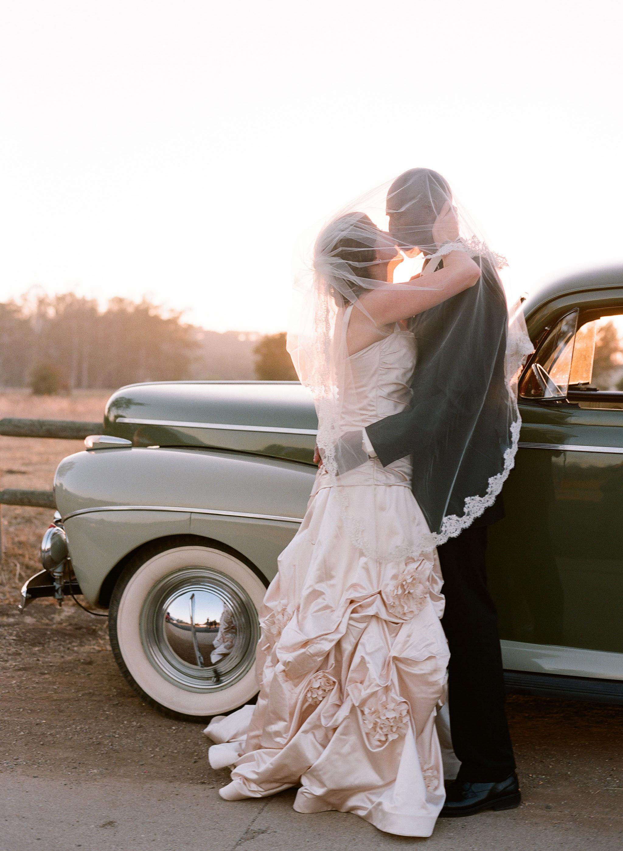 Veils, Vintage Wedding Dresses, Fashion, blue, Vintage, Bride, Groom, Veil, Wedding, Car, Elizabeth, Valley, Ojai, Messina