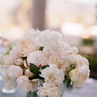 white, Centerpieces, Spring Wedding Flowers & Decor