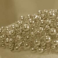 Jewelry, Tiaras, Tiara, Pearls