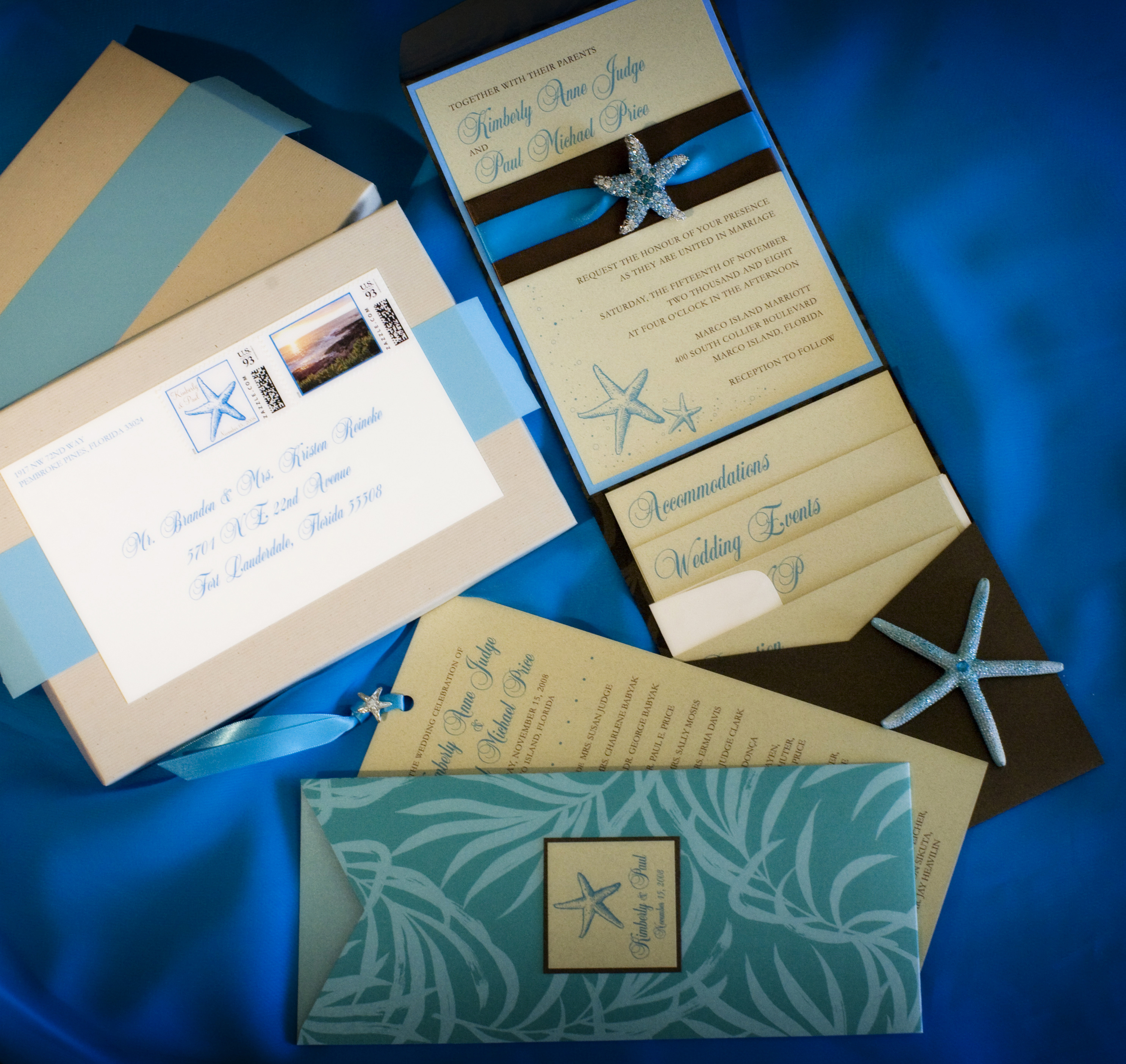Ceremony, Flowers & Decor, Stationery, Beach Wedding Invitations, Invitations, Programs