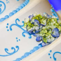 Cakes, blue, cake, Wedding, Cream, Design, Cathys bakery