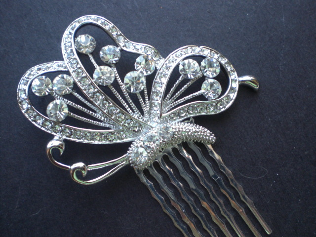 Beauty, Jewelry, Tiaras, Chignon, Updo, Curly Hair, Wavy Hair, Long Hair, Headbands, Comb, Hair, Long, Wavy, Tiara, Back, Up, Half, Crystal, Do, Swarovski, Designs, Diamond, Curly, Pulled, Pearl, Headband, Piece, Hairpiece, Belle nouvelle designs, Nouvelle, Belle