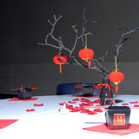 Cookies, Table, Chinese, Theme, Setting, Fortune