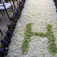 Ceremony, Flowers & Decor, ivory, green, Arch, Aisle
