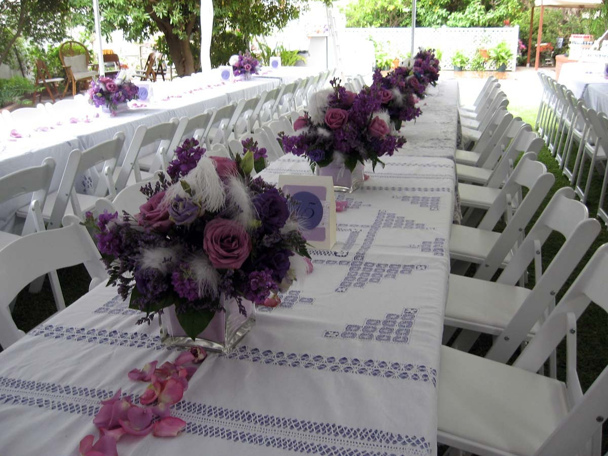 Beauty, white, purple, Feathers, Centerpiece, Table, Lavender, Head