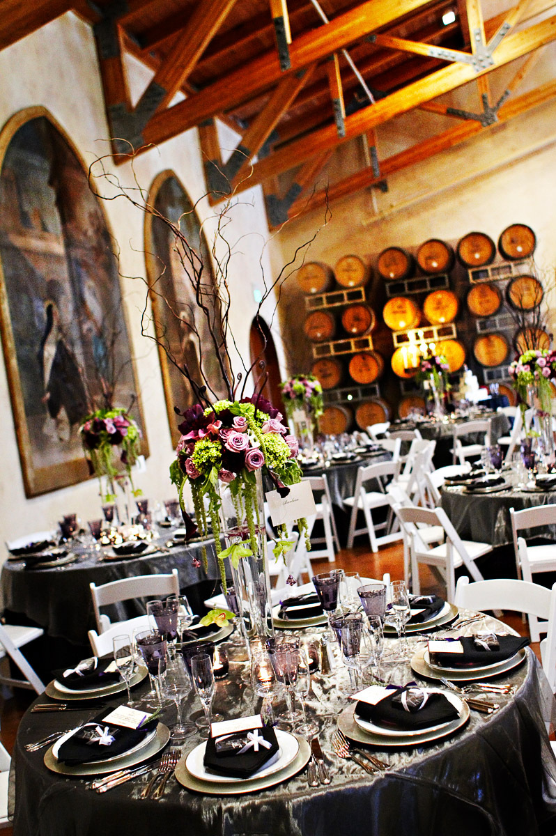 purple, black, Table, Winery, Barrel, Linen, Tabletop, Suzy berberian, a dream day