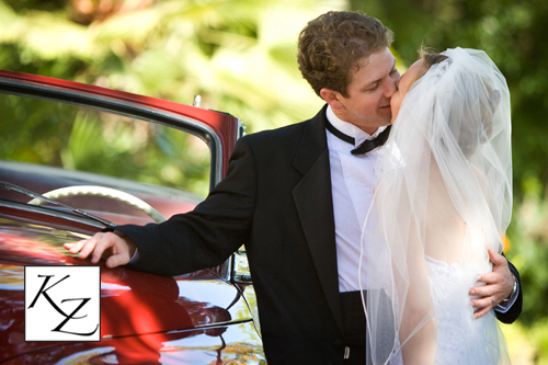 red, Bride, Groom, Kiss, Cars, Kathy ziegler art photography