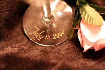 Registry, Drinkware, Hand, Glasses, Artful celebrations, Engraved