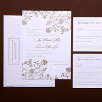 Stationery, gold, invitation, Invitations, Letterpress, Papeterie