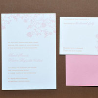 Stationery, orange, pink, Invitations, Letterpress, Papeterie