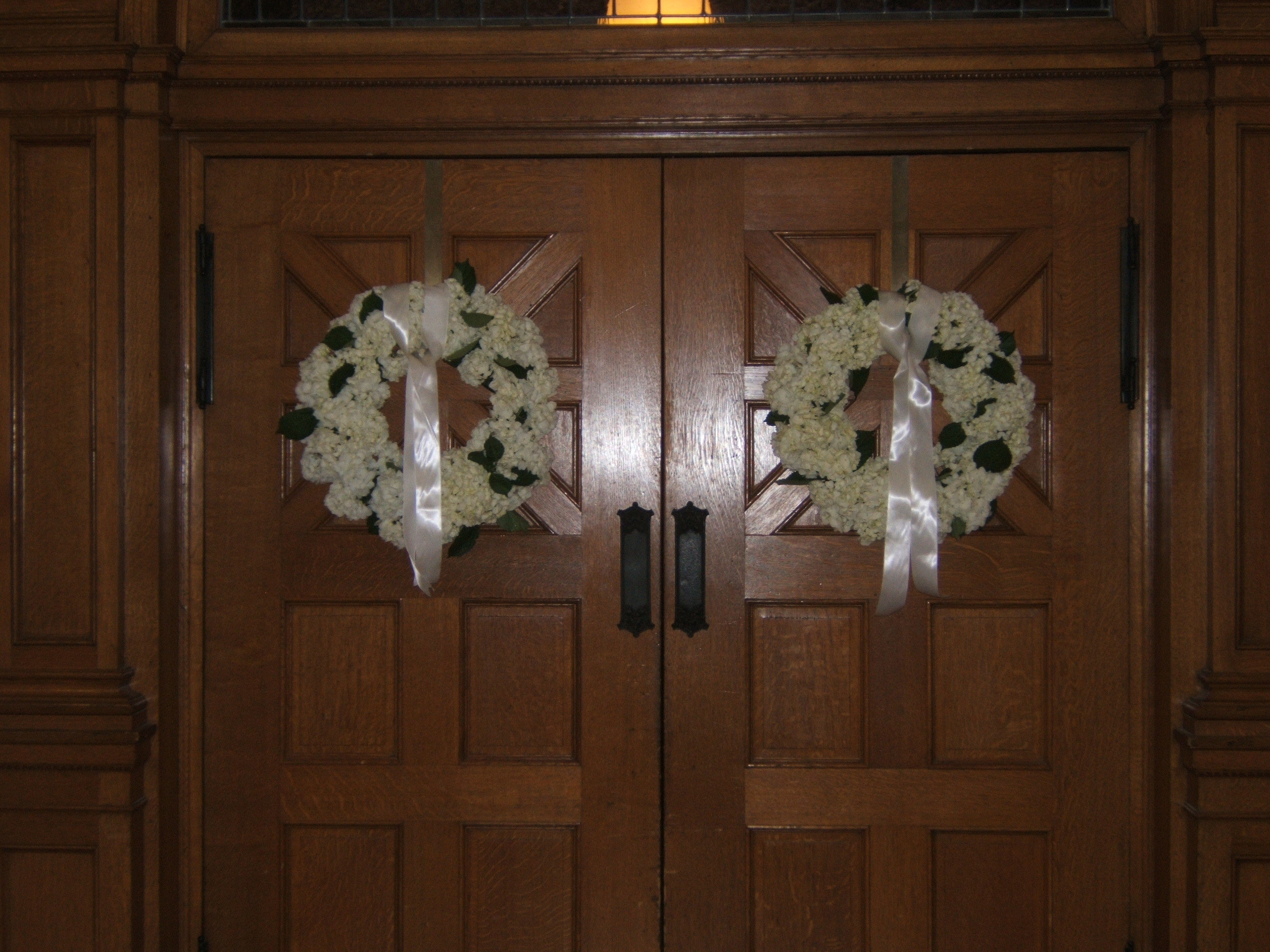 Ceremony, Flowers & Decor, Ceremony Flowers, Flowers, Hydrangea, Door, Kacie cooper - floral designer