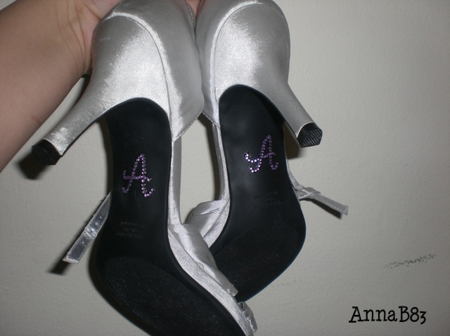 Shoes, Fashion, Rhinestones, Lilac