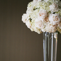 white, pink, Ceremony Flowers, Classic Wedding Flowers & Decor