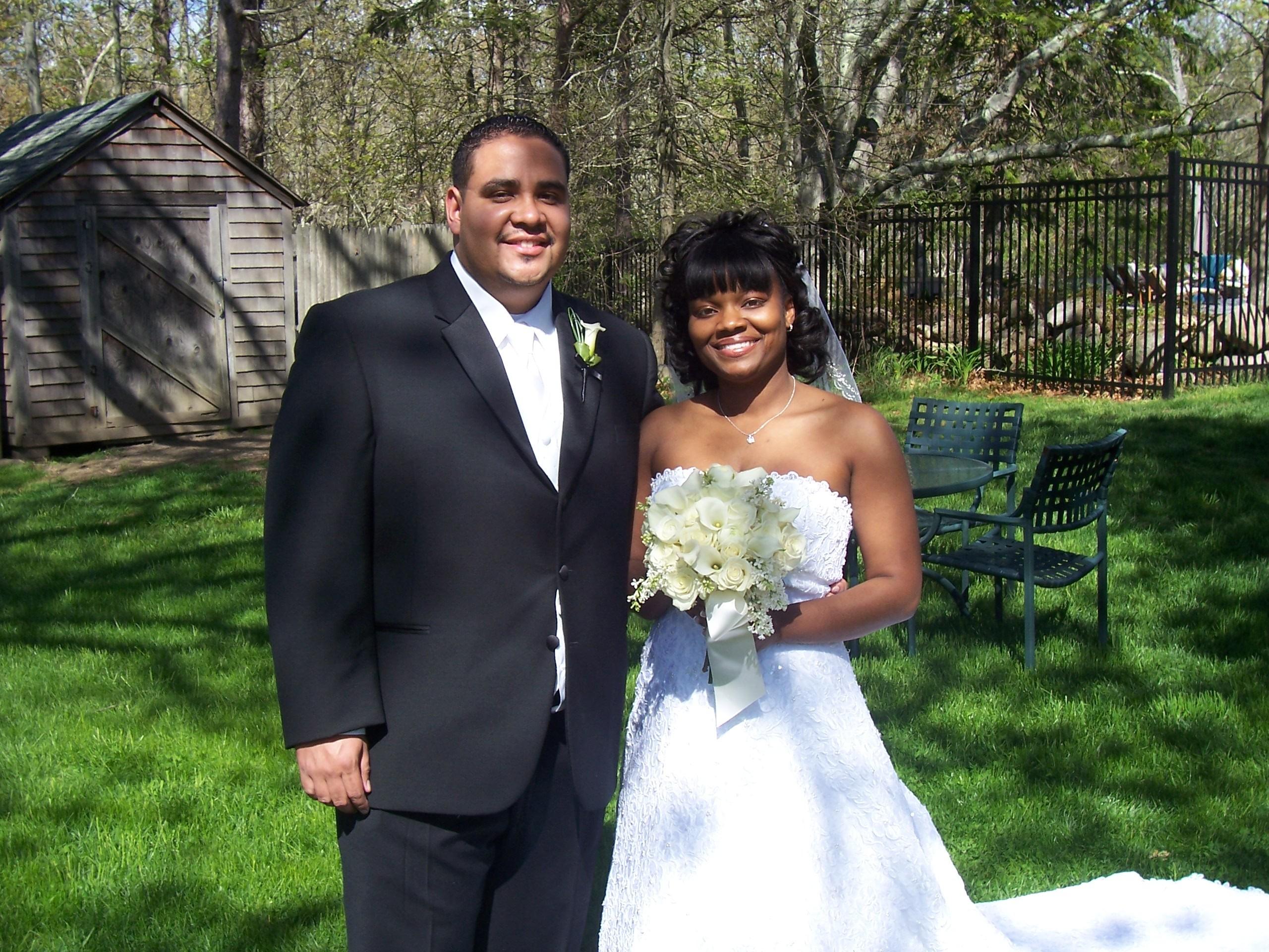 Flowers & Decor, Wedding Dresses, Fashion, dress, Men's Formal Wear, Bride Bouquets, Bride, Flowers, Groom, Wedding, Tux, Dj, Outside, Ramu the crew, Flower Wedding Dresses