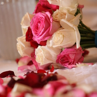 Flowers & Decor, ivory, pink, red, Bride Bouquets, Flowers, Bouquet