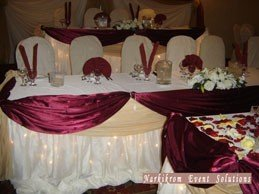 Reception, Flowers & Decor, Wedding, Headtable, Banquet, Hall, Decoration, Nes weddings