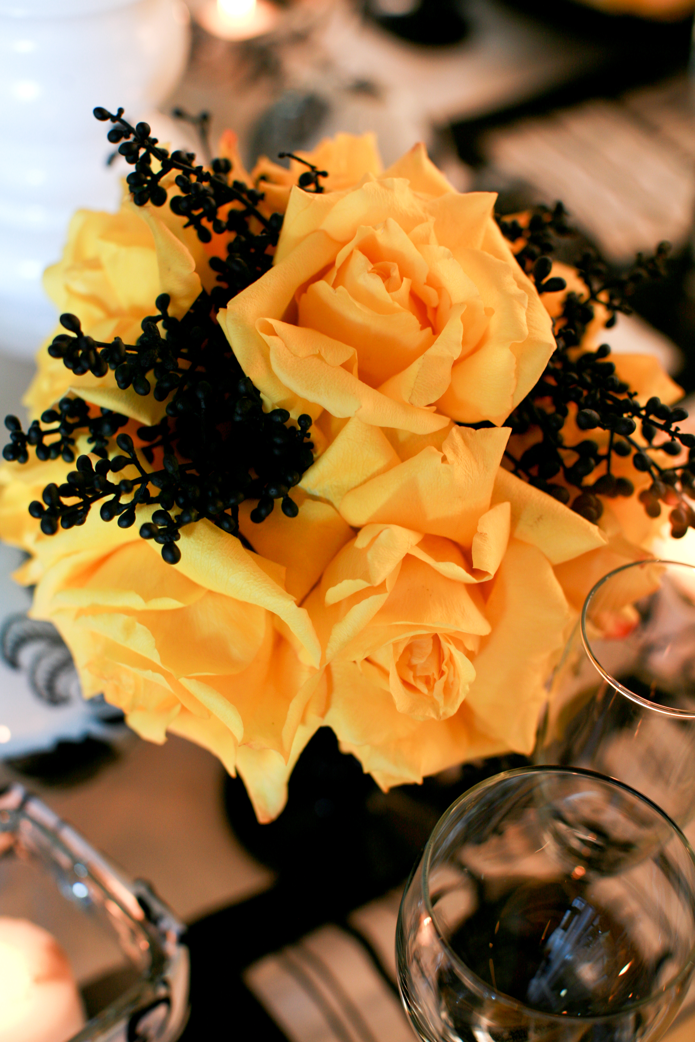 Flowers & Decor, yellow, Flowers, Rose, Mini