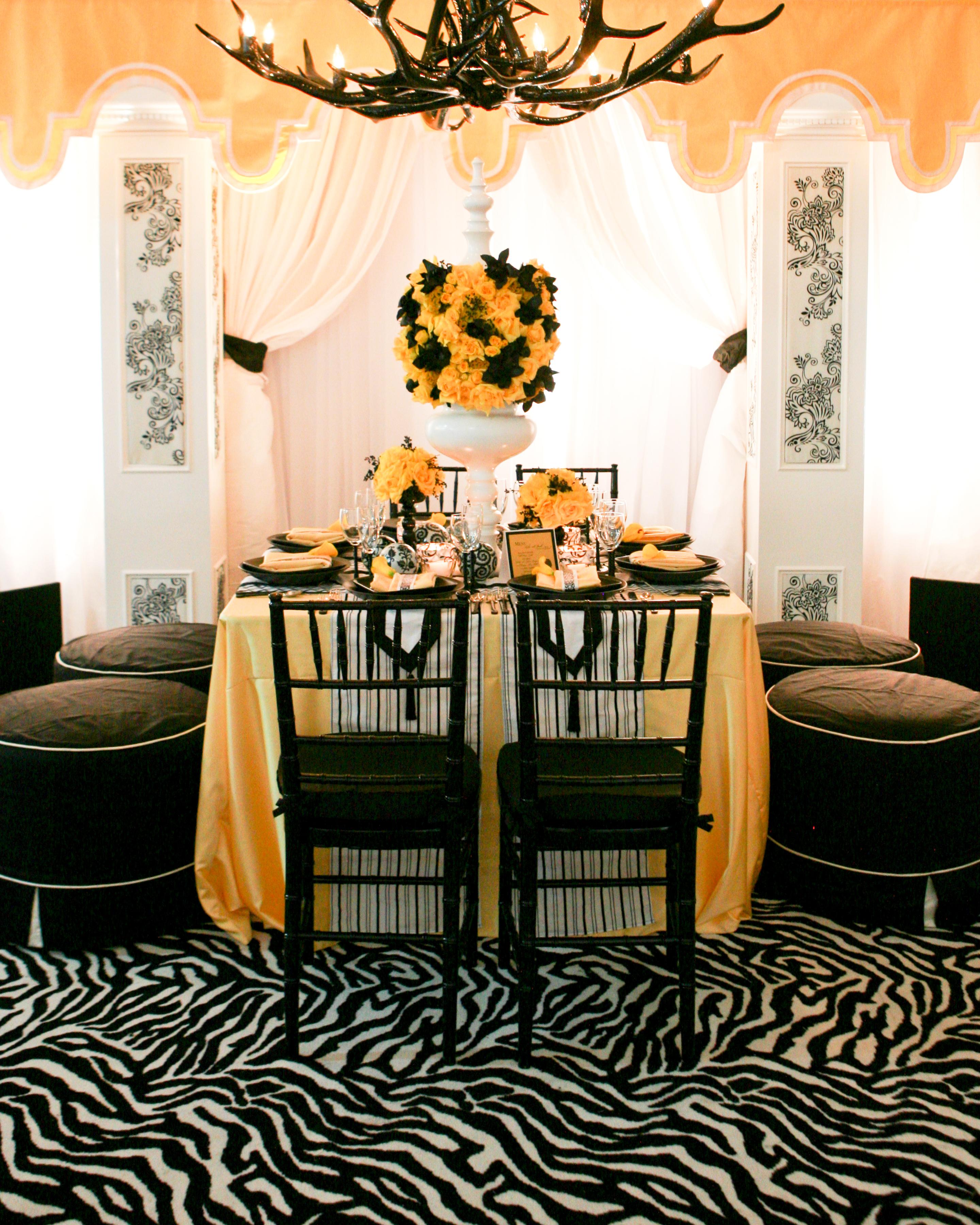white, yellow, black, Linens