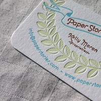 Paper, Letterpress, Card, Stories, Paper stories letterpress, Business, Calling