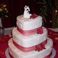 Cakes, cake, Wedding