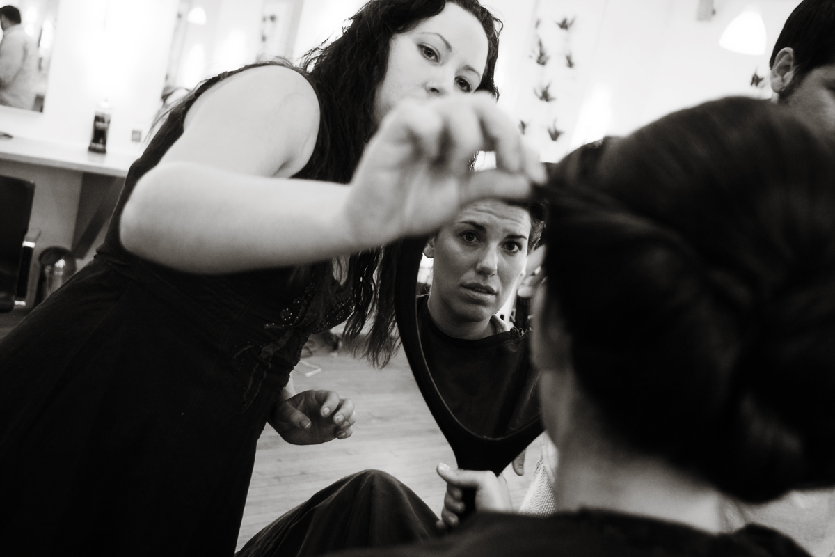 Beauty, Bride, Wedding, Getting, Ready, Make-up, Salon, Stylist, Ryan timm photography