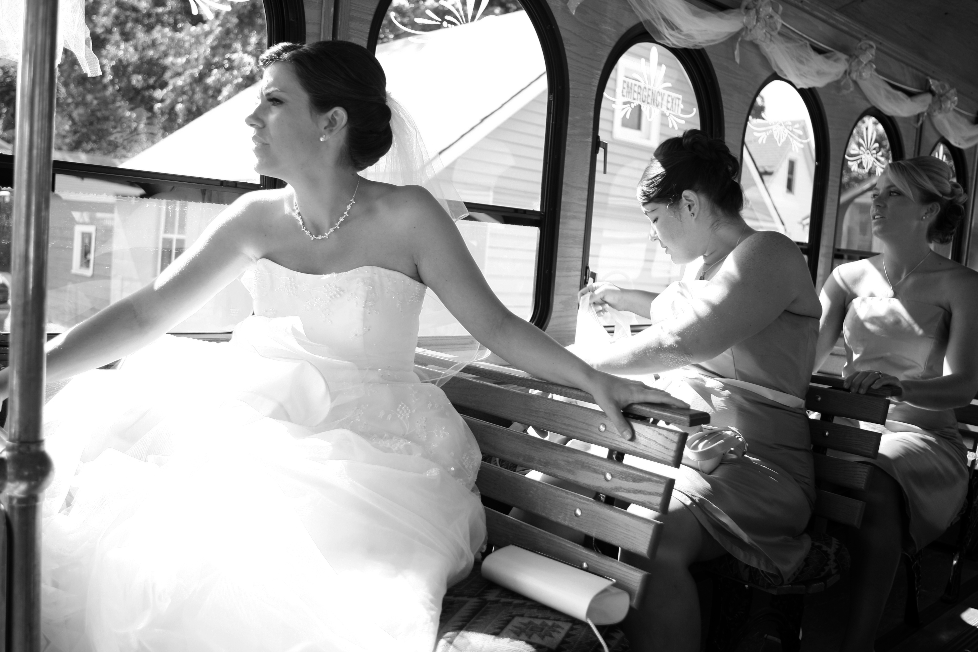 Bride, Wedding, Getting, Ready, Anticipation, Trolley, Ryan timm photography
