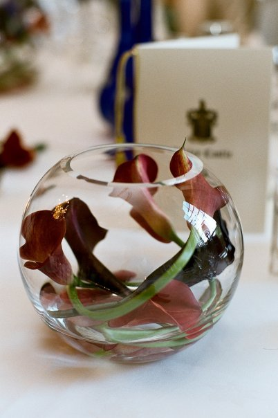 Flowers & Decor, Flowers, Vase, Fish, Bowl, Lillies