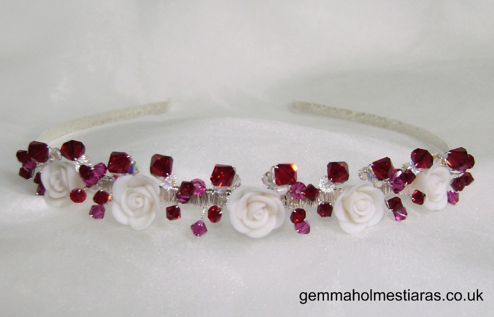 Flowers & Decor, Jewelry, Tiaras, Bridesmaid Bouquets, Flowers, Bridesmaid, Band, Tiara, Gemma holmes, Alice