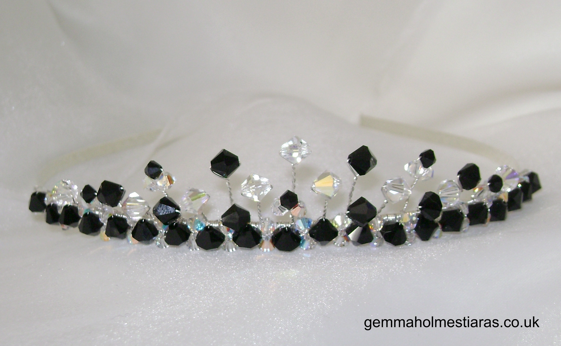 Jewelry, black, Tiaras, Bridesmaid, Tiara, Crystal, Small, Gemma holmes