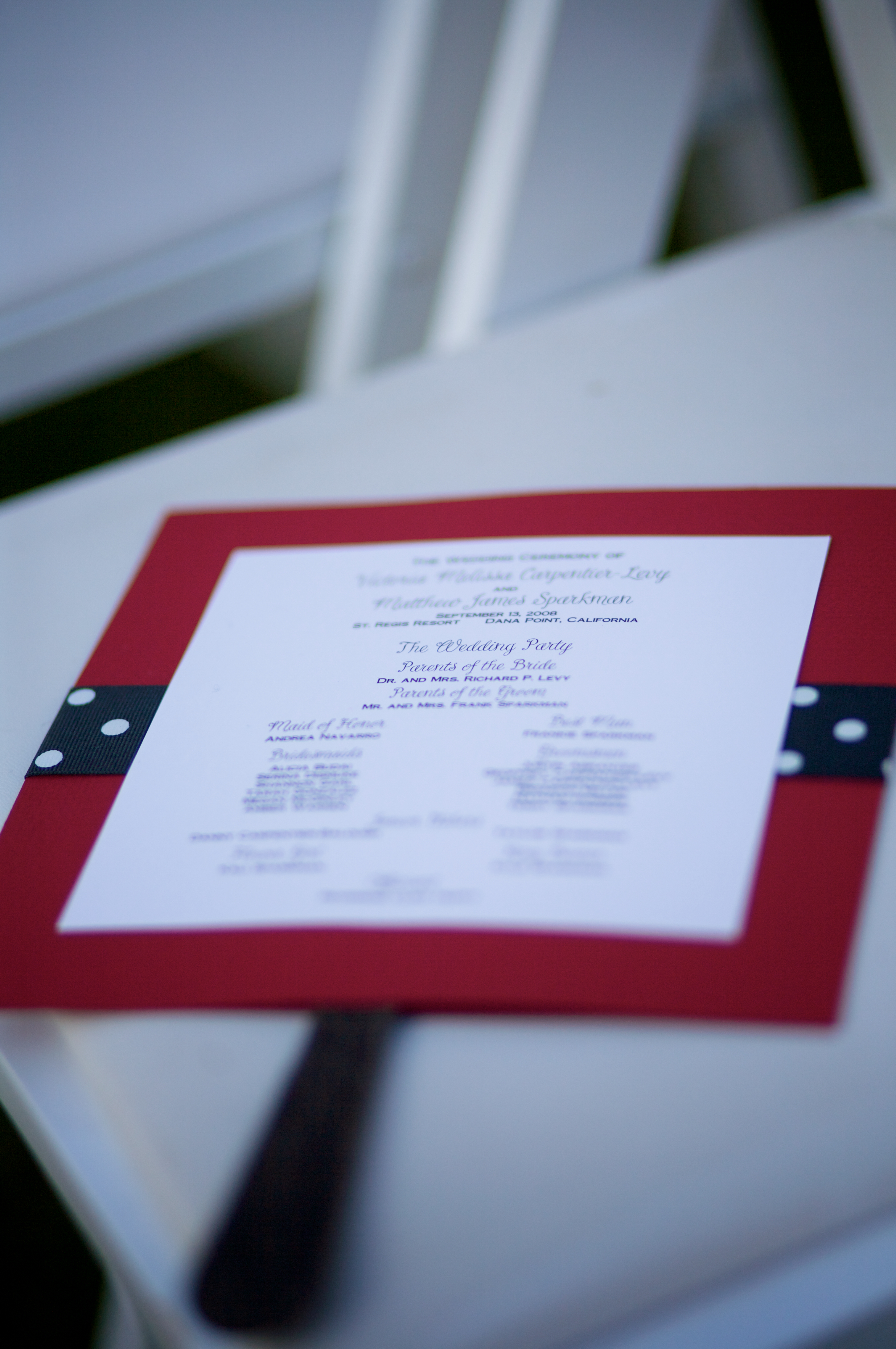 Ceremony, Flowers & Decor, Stationery, Programs, Stephanie lairson - wedding consultant