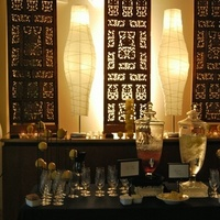 Reception, Flowers & Decor, Decor, yellow, brown, Lighting, Drinks, Romantic, Drink, Orchids, Welcome, Lemons, Specialty, Mood, Lamps, Beveragejar, Markei events productions