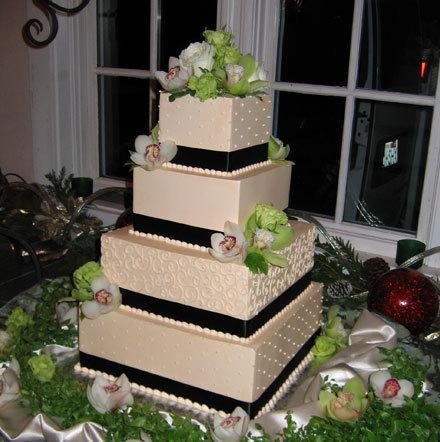 Cakes, ivory, black, cake