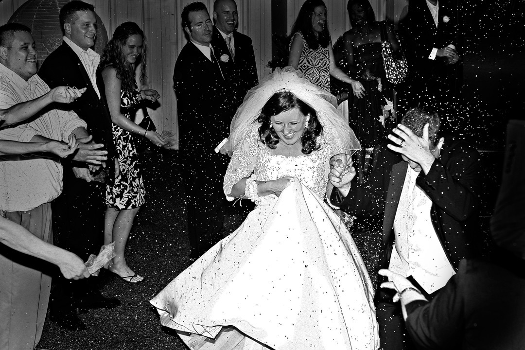 Reception, Flowers & Decor, Bride, Groom, Exit, True expression photography, Throwing rice