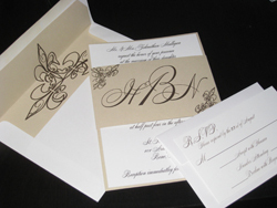 Stationery, Modern, Classic Wedding Invitations, Invitations, Wedding, Band, Scroll, Belly, The stylish scribe