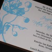 Stationery, Spring, Summer, Invitations, Wedding, The, Save, Date, Poppy, The stylish scribe