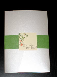Stationery, orange, green, Spring, Summer, Invitations, Wedding, Pocketfold, The stylish scribe
