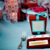 Favors & Gifts, red, blue, Favors, Centerpieces, Teal