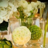 Flowers & Decor, white, green, Tables & Seating, Centerpiece, Tables
