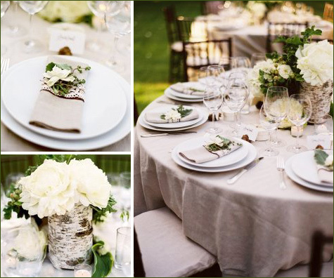 white, green, Rustic, Centerpiece, Woods