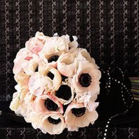 Flowers & Decor, white, black, Bride Bouquets, Flowers, Bouquet