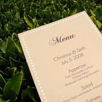 Stationery, Invitations, Menu, Letterpress, Lime paper expressions