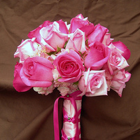 pink, Bouquet, Rose